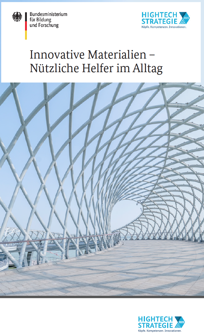 Titelbild Broschüre Innovative Materialien