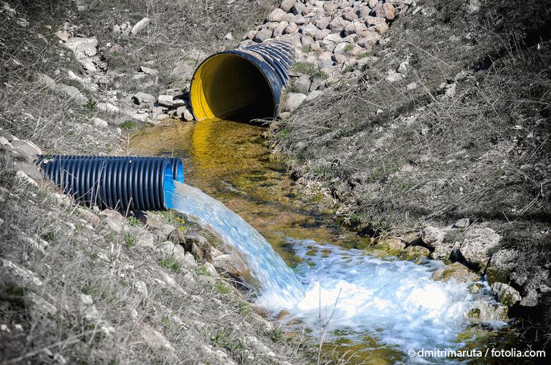 Sewer & Environmental Pollution. © dmitrimaruta / fotolia.com