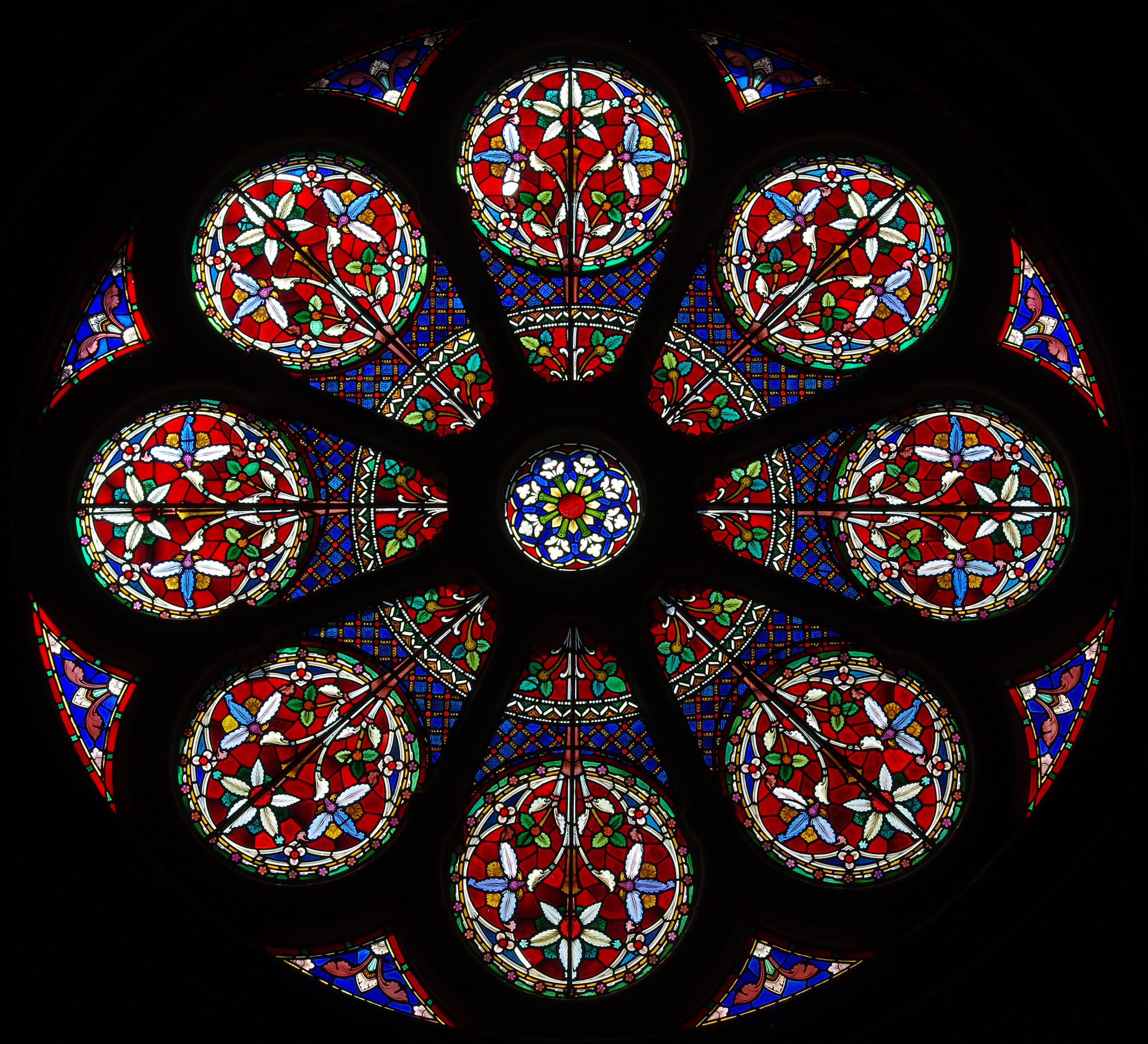 stained glass window in church @ Howgill / fotolia com