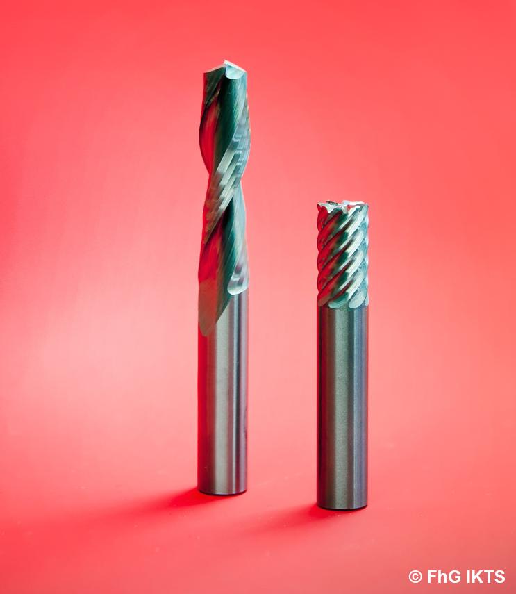 Tungsten carbide-cobalt carbide cutter © FhG IKTS