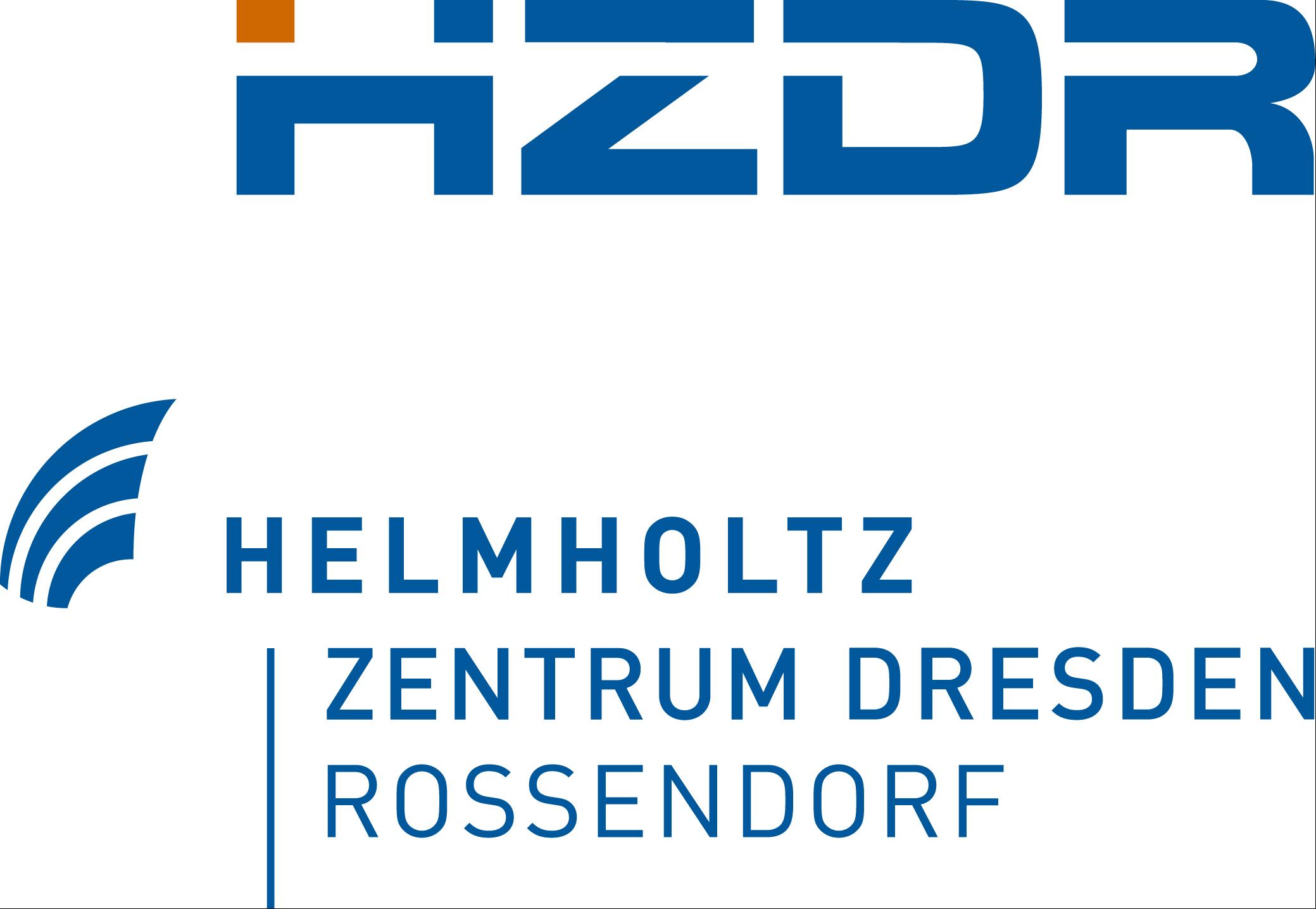 Helmholtz Centre Dresden - Rossendorf e. V. (HZDR) Logo