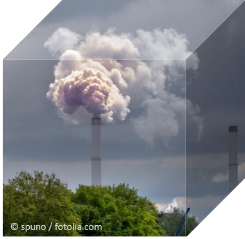 Chimney with exhaust gases © spuno / fotolia.com