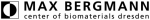 Max Bergmann Center of Biomaterials (MBC) Logo