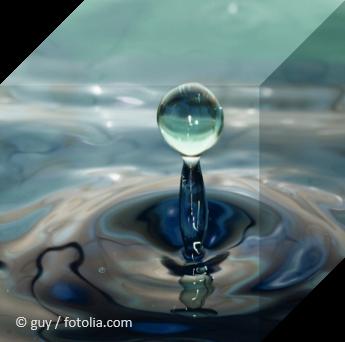 water drops © guy / fotolia.com