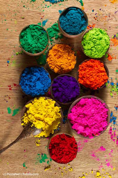Indian Pigments © PicciaNeri / fotolia.com