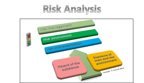 Schematic sketch of a risk analysis © BAuA/ R. Packroff