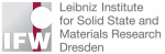 Leibniz IFW Dresden Logo English